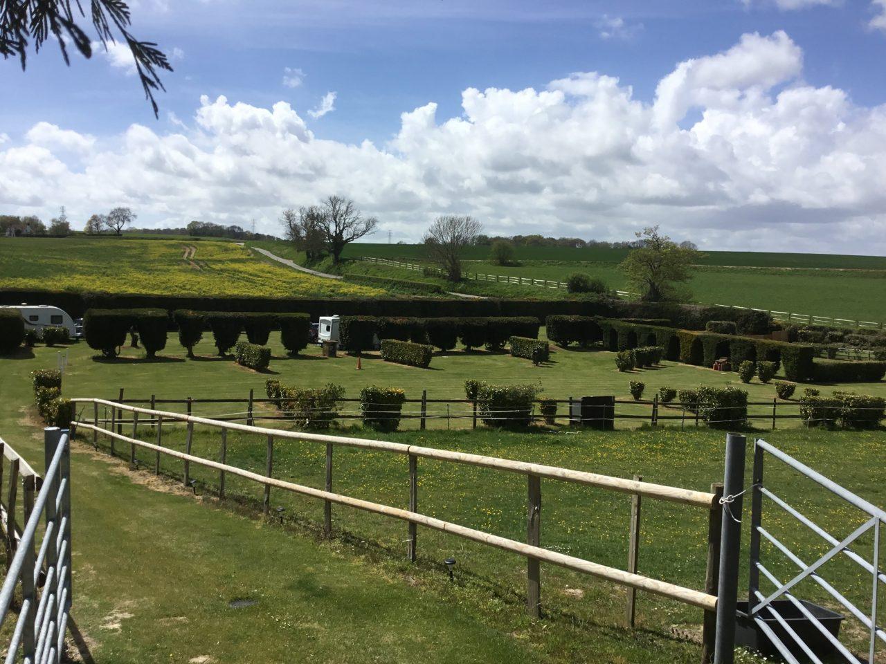 Monks Cottage caravan site
