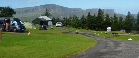 Staffin Caravan & Camping Site