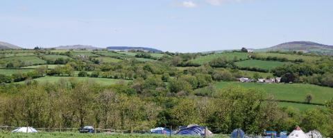 Tir Bach Farm Campsite
