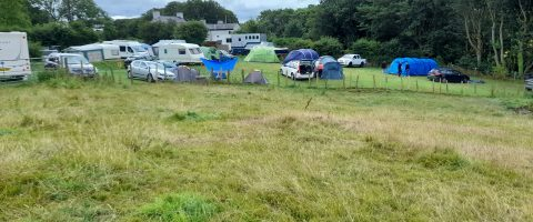 Cae Ffynnon caravan and camping